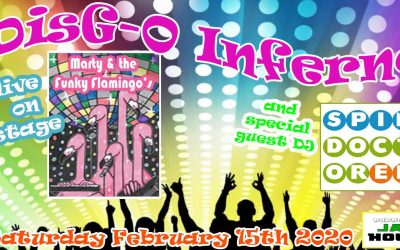 DisG-O Inferno ft. Marty & The Funky Flamingo's